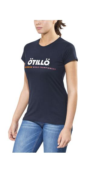 ÖTILLÖ Peach Kortærmet T-shirt Damer blå